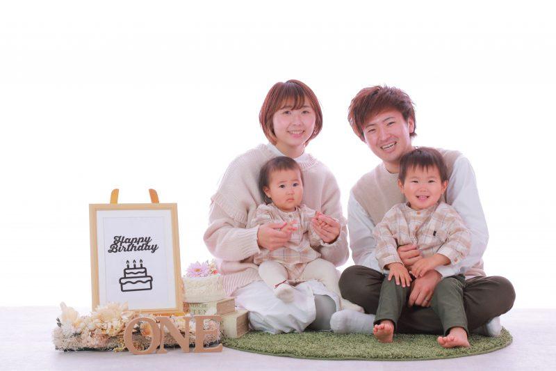 家族写真服装